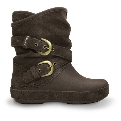7074420abe Crocs™ Berryessa Tall Suede Buckle Boot